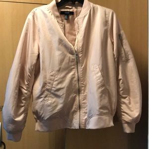 Forever 21 pink bomber jacket medium